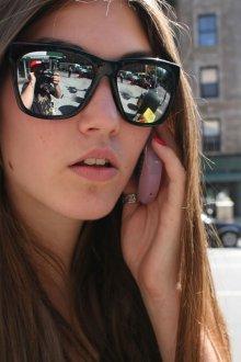 Зеркальные очки отражающие