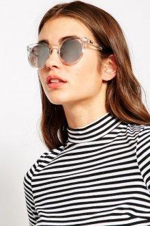 Зеркальные очки пластиковые