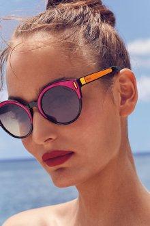 Зеркальные очки пляжные