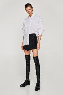 Юбка шорты черная