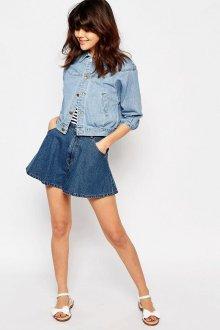 Юбка шорты из джинсы