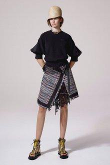 Юбка шорты комбинированная