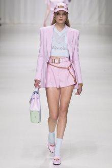 Юбка шорты розовая короткая