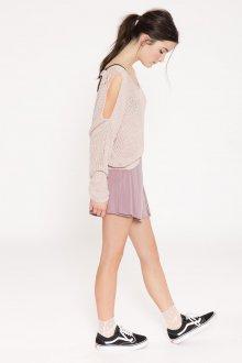 Юбка шорты розовая