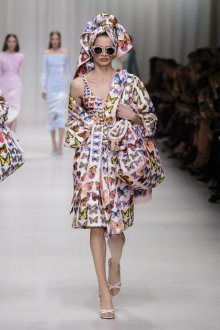 Платье халат с бабочками