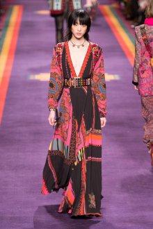 Платье халат этно