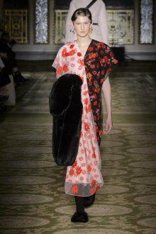Платье халат комбинированное