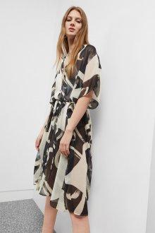 Платье халат шифоновое