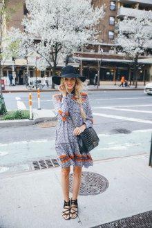 Платье из штапеля летнее