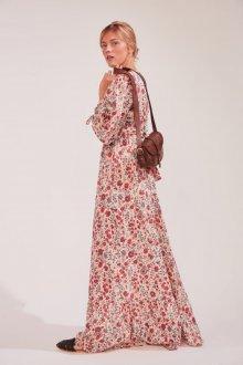 Платье из штапеля макси