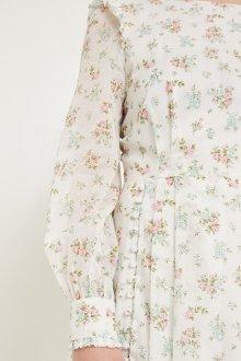 Платье из штапеля пастельное