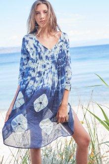 Платье из штапеля пляжное
