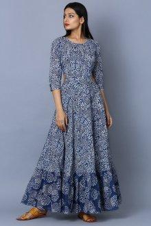 Платье солнце из штапеля