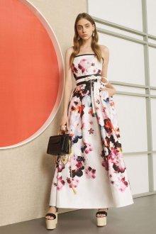 Платье из штапеля вечернее