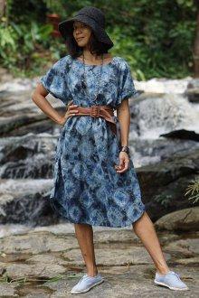 Платье из штапеля женское