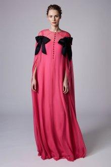 Длинная туника розовая