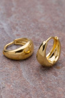 Мужские серьги золотые кольца