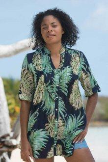 Пляжная туника рубашка
