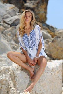 Пляжная туника стильная