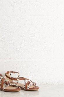 Сандалии женские коричневые