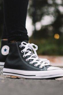 Кеды женские Converse кожаные
