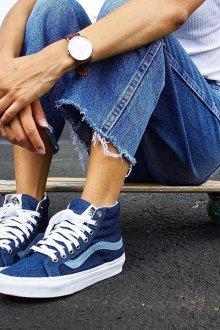 Кеды женские Vans джинсовые