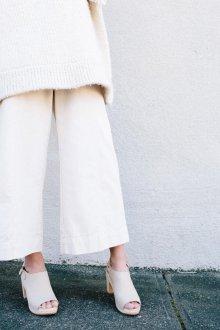 Сабо женские с открытыми носками