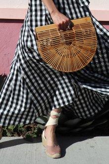 Эспадрильи женские бежевые кожаные