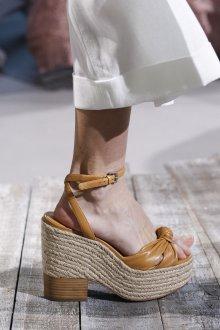 Эспадрильи женские на каблуке