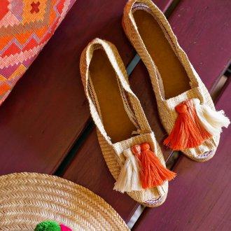 Эспадрильи женские плетеные