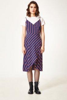 Платье с запахом асимметричное