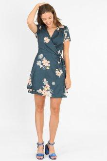 Платье с запахом летнее