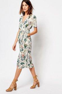 Платье с запахом миди