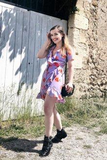 Платье с запахом модное