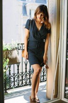 Платье с запахом женское
