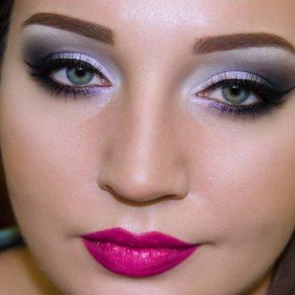 Клубный вечерний макияж
