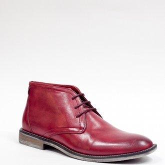 Мужская обувь бордового цвета