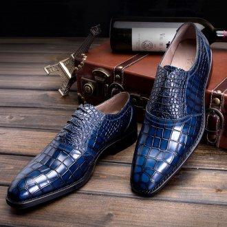 Модная мужская кожаная обувь