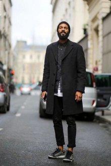 Головной убор к пальто для мужчин