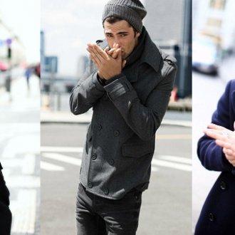 Какие виды мужских головных уборов уместны под пальто