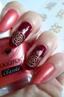 Вариант дизайна с розами