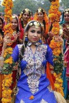 Особенности индийского костюма