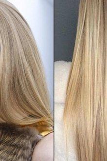Оттенок волос у разных блондинок