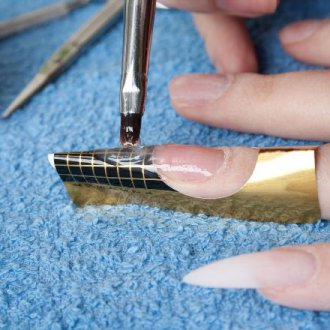 Виды коррекции наращенных ногтей