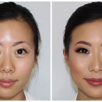 Макияж для азиатских глаз с нависшим веком