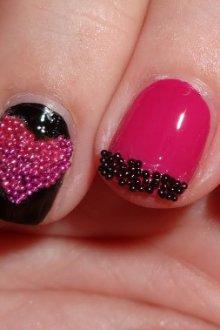 Бульонки для ногтей: как использовать дизайн