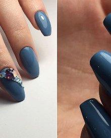 Варианты дизайнов с бульонками для ногтей