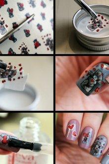 Как клеить наклейки на ногти, чтобы они хорошо держались