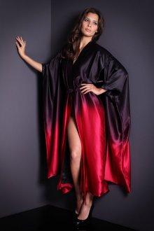 Модное домашнее шелковое кимоно