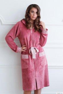 Модный домашний мягкий халат